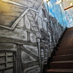 Mural_Wall pMural_of_a_staircase_with_3D_effect