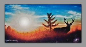 the_piece_of_universe_paint_acrilic_on_canvas