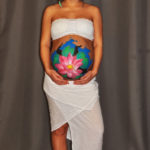 prenatal_women_bodyart_lotus